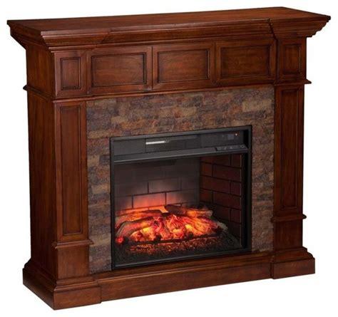 Indoor Corner Fireplace by Southern Enterprises Merrimack Corner Infrared Electric