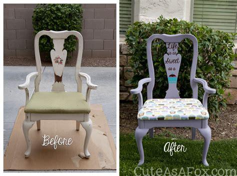 diy chalk paint chair diy cupcake chair redo with chalk paint