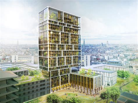 London Terrace Towers Floor Plans by C F M 248 Ller Chosen To Design Antwerp Residential Tower