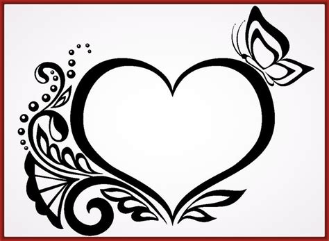 imagenes de rosas y corazones para colorear imagenes de corazones para dibujar archivos fotos de