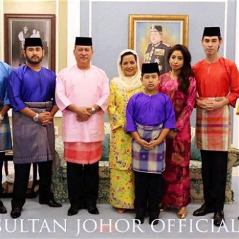Baju Melayu Stail Johor gambar asal usul pakaian kerabat diraja johor baju melayu teluk belanga dan seluar slack hitam