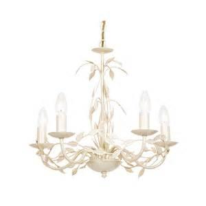 Cream Chandeliers Uk Serenade 5cr Elegant 5 Light Chandelier In Cream Gold