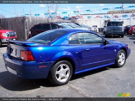 blue 2004 mustang 2004 ford mustang v6 coupe in sonic blue metallic photo no