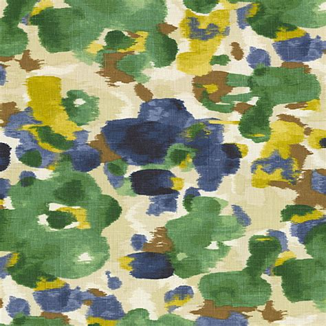 watercolor upholstery fabric blue green dappled watercolor fabric modern
