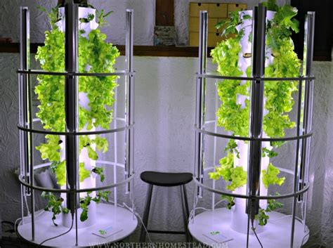 tower garden system promises a low maintenance indoor