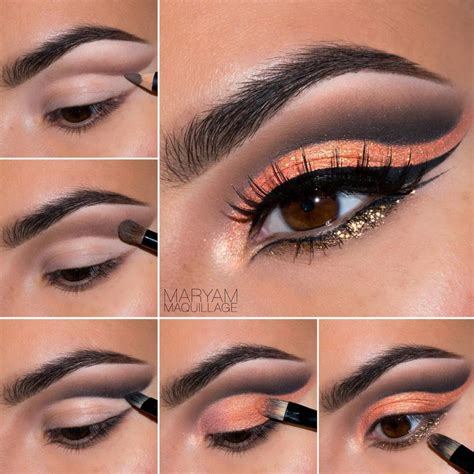 Eyeshadow Tutorial cut crease eye makeup mugeek vidalondon