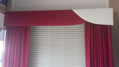 padded curtains padded pelmets jaleigh blinds and curtains
