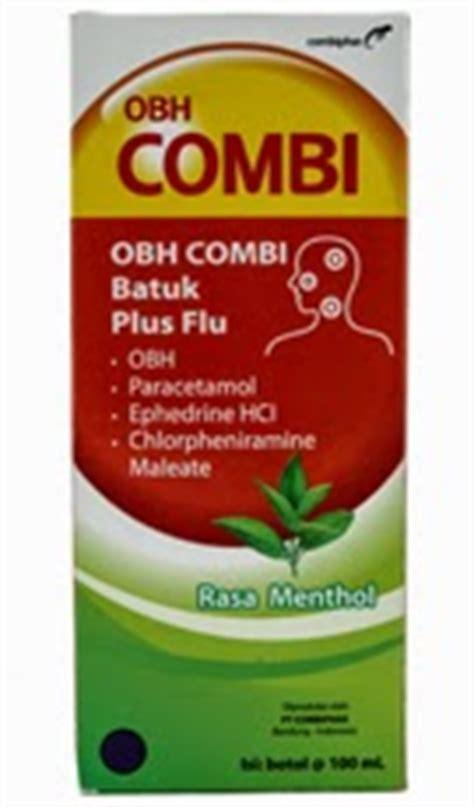 Obat Antihistamin obh combi plus obat batuk plus flu informasi obat obatan