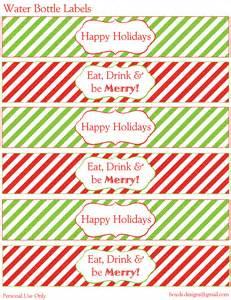 12 days of christmas diy printable freebies day 3 water
