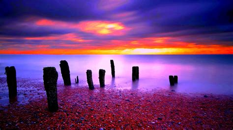 colorful picture colorful sunset wallpaper gallery