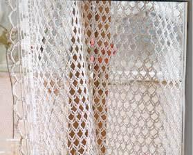 Scarf Valance Pattern Crochetbutterfly Crochet Curtain Pattern Curtain Patterns