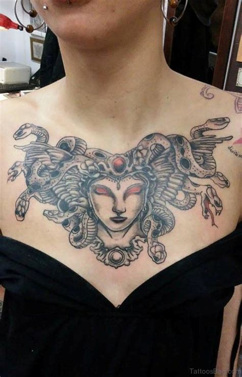 medusa chest tattoo 40 marvelous medusa tattoos for chest
