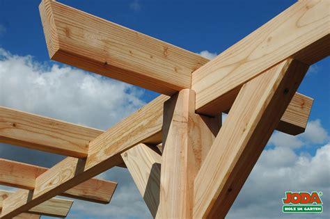 Pergola Bausatz Holz by Holz Pergola Komplett Bausatz 3 Pfosten