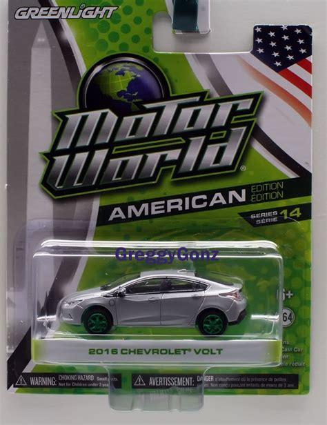 Greenlight Motor World Csite 2015 greenlight motor world s14 2016 chevrolet volt