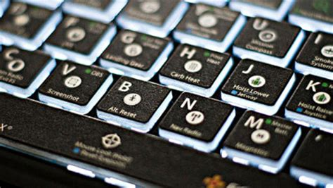 fsx keyboard template this keyboard is just for flight sim nerds gizmodo