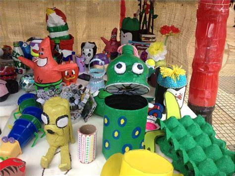 figuras geometricas hechas con material reciclable objetos hechos con material reciclable imagui