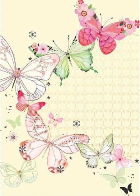 cornici fatte a mano farfalle avvolgere i regali mariposas fondos