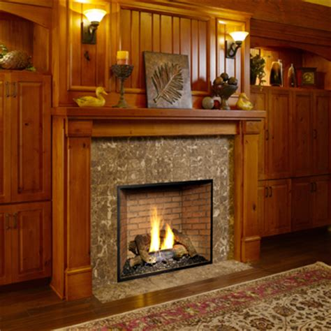 gas fireplace doors open or closed fireplaces