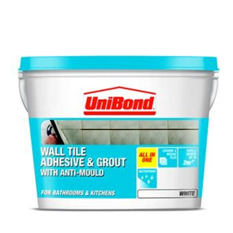 bathroom tile adhesive and grout unibond grout homebase co uk