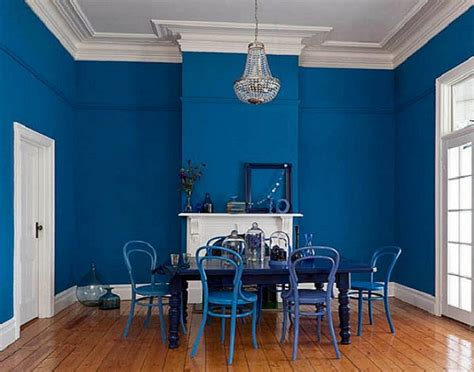 blue interior paint bold blue interior paint color for dining room interior