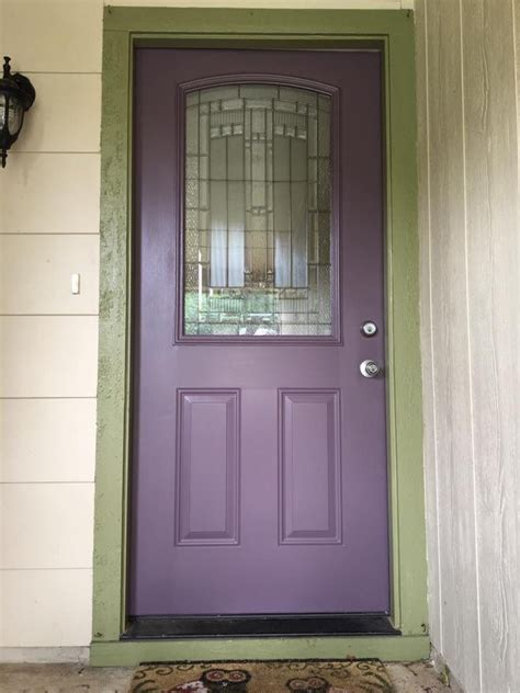 Plum Front Door 25 Best Ideas About Purple Front Doors On What Does What Is Bold And What