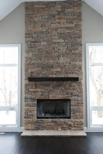 fireplaces stone stone and more stone renovation projects ledge stone fireplace design pictures remodel decor and