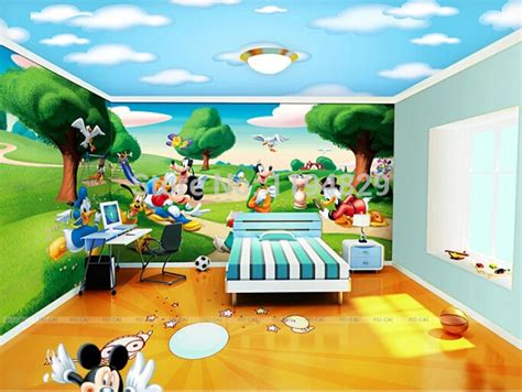 how to get mouse out of room wallpaper band picture more detailed picture about 3d nature mickey mouse duck