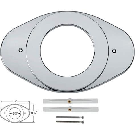 delta shower valve renovation cover plate in chrome 162057