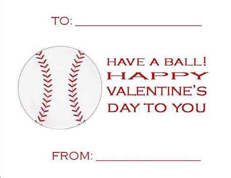 valentines baseball
