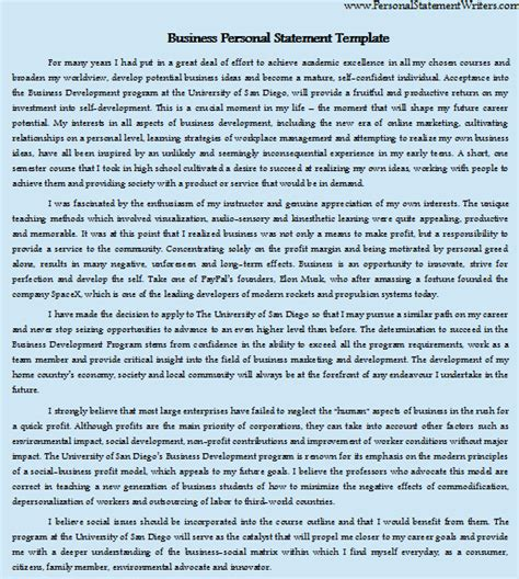 business personal statement sle by personalstatement on deviantart
