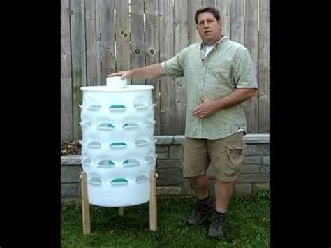 Vertical Garden Barrel Vertical Gardening 50 Plants In A 55 Gallon Barrel While