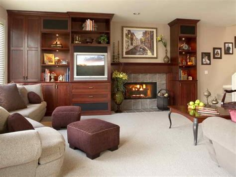How To Decorate A Living Room Without A Fireplace by Family Room Fireplace Marceladick