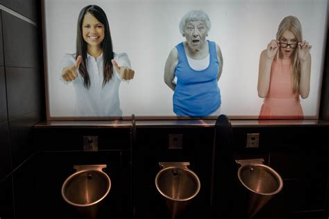 girl in mens bathroom take a pee k at the world s weirdest urinals huffpost