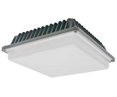 Led Canopy Light Fixtures American Lighting Low Profile Gc20 Led Canopy Light