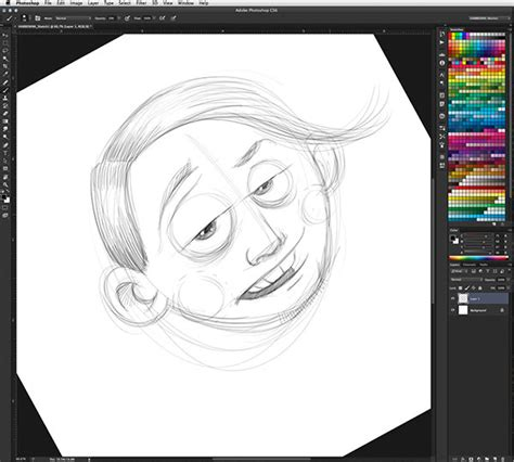 how to make doodle using adobe photoshop how to sketch awesomely in photoshop