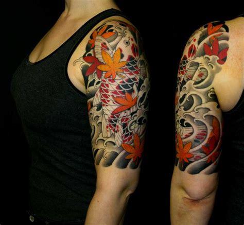 tattoo koi blumen koi tattoo arm buscar con google ideas tattoo