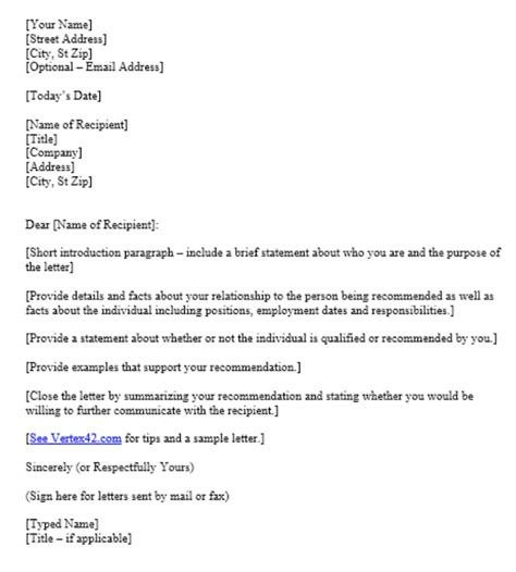 free reference letter free reference letter template 74 exles of reference