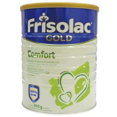 frisolac gold comfort leche frisolucionac gold comfort 900 g lata