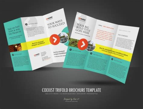 brochure template ideas 30 best tri fold brochure designs for your inspiration