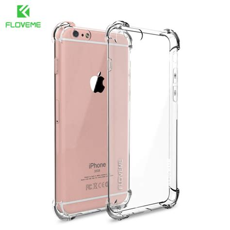 Big Silicon Tpu For Iphone 6 Plus Tpu27 44tojb floveme clear anti knock shock soft silicone tpu for iphone 7 6 6s plus 7 plus samsung