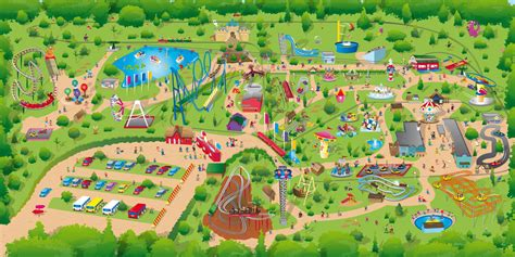 theme park uk map waveswinger is back at pleasurewood hills
