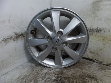 Kia Picanto Alloy Wheels 2015 Kia Picanto Alloy Wheel 4 Stud 8 Spoke Design 5 5j X