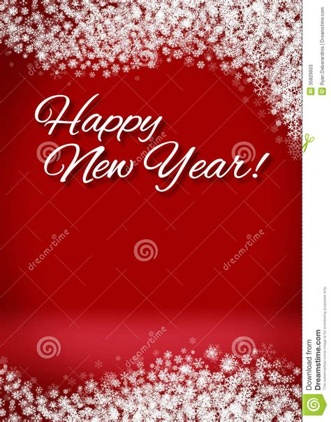 free happy new year card template snowy happy new year 3d card background stock photos