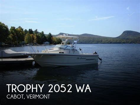 fishing boat for sale vermont sold trophy 2052 wa boat in cabot vt 128723