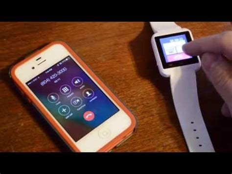 tutorial uwatch how to use u8 bluetooth watch bt notification app for a