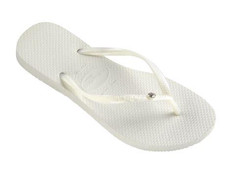 Havaianas Flip flops   Slim Crystal Glamour Sw White