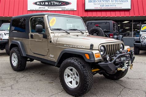 lj jeep pre owned 2006 jeep wrangler lj rubicon