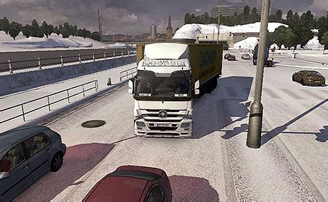 euro truck simulator 2 snow mods simulation game modes euro truck simulator 2 mods snow winter mod ets 2 mods