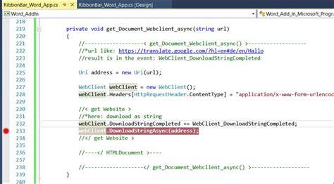 xamarin adsense c webseite asynchron lesen mit webclient codedocu de