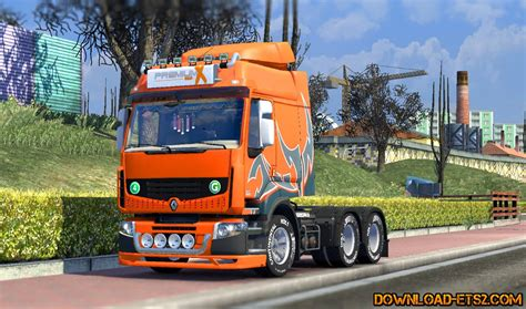 renault trucks premium renault premium v2 2 by haxwell 187 download ets 2 mods